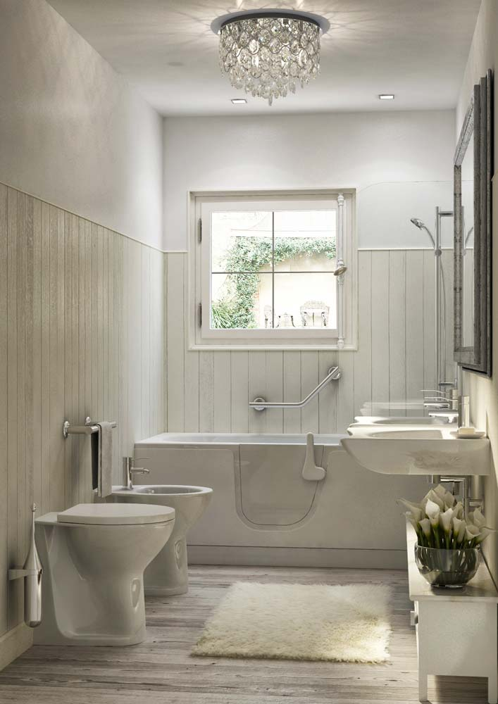 Puertas De Baño Para Discapacitados:Bañeras con puerta para los ancianos y discapacitados