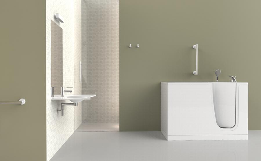 bañeras con puerta para los ancianos y discapacitados - Puertas De Bano Para Discapacitados