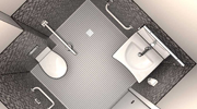Diseño de baños DWG