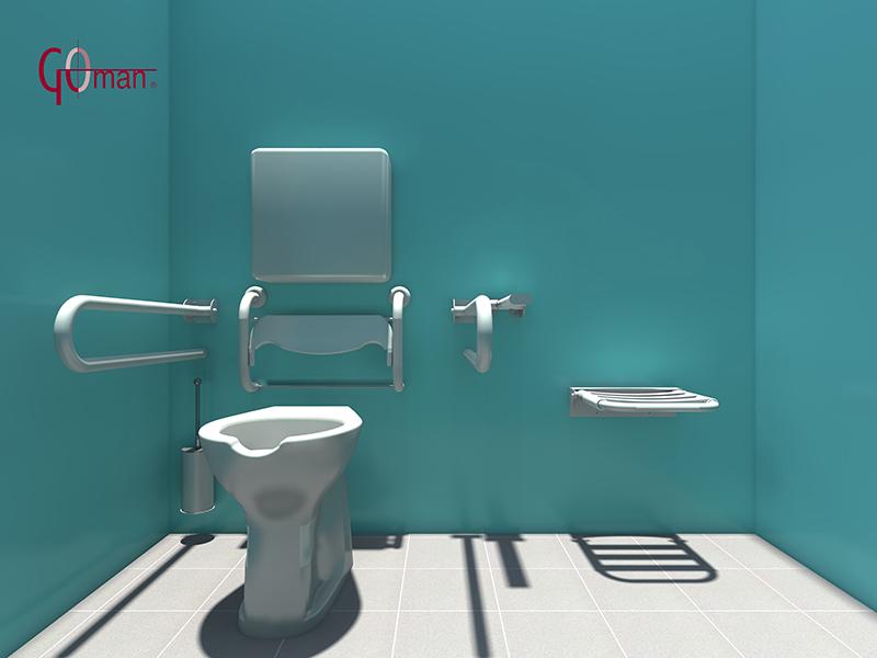 Baño De Minusvalidos:American Standard Toilet CAD Drawing